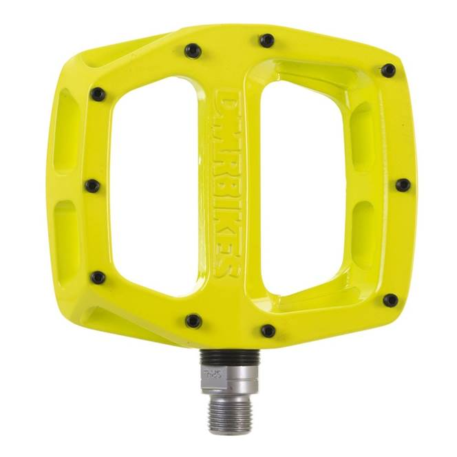 DMR V12 NEON YELLOW PEDAL NEW SHAPE