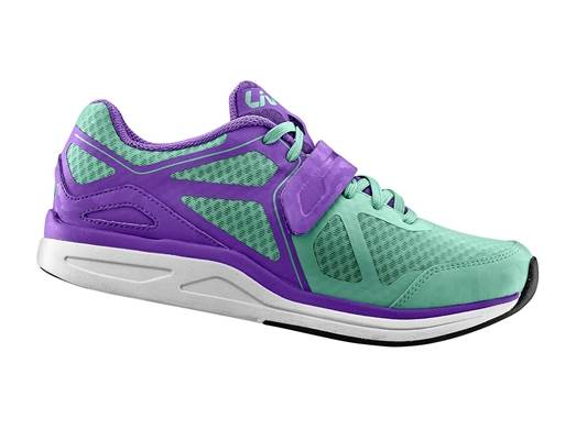 Liv Avida Leisure or Spin Shoe Green and Purple