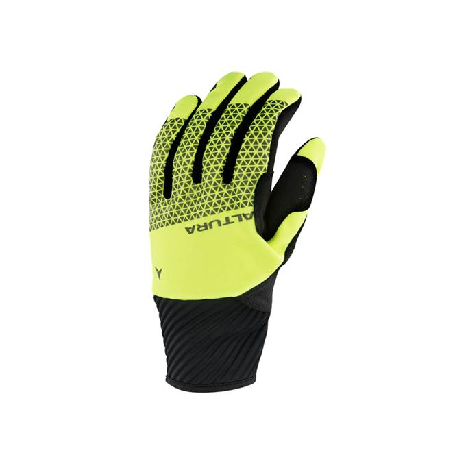 Altura Womens Nightvision 4 Windproof Hi-Vis Yellow Glove