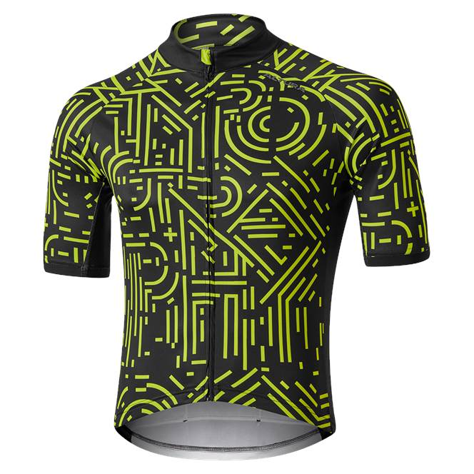 Altura Icon Short Sleeve Jersey - Tokyo 2020 Black/Yellow