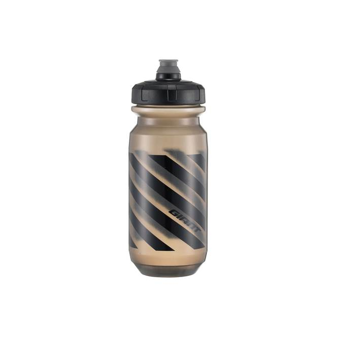 Giant Doublespring Transparent Black Bottle