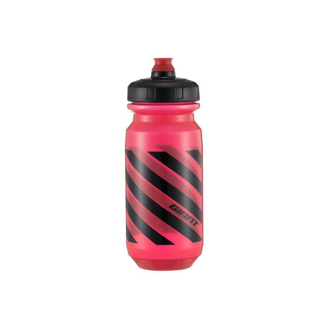 2019 Giant Doublespring 600 Water Bottle in Transparent Red