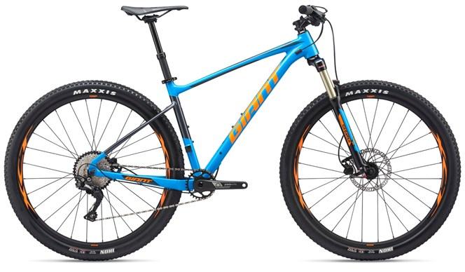 2019 Giant Fathom 29er 2 Mens Hardtail Mountainbike in Blue
