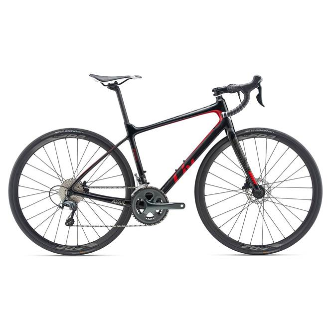 2019 Liv Avail Advanced 3 Black Womens Endurance Road Bike