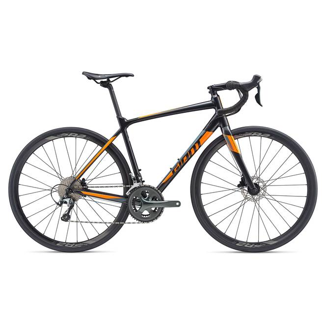 2019 Giant Contend SL 2 Disc Mens Road bike in Black