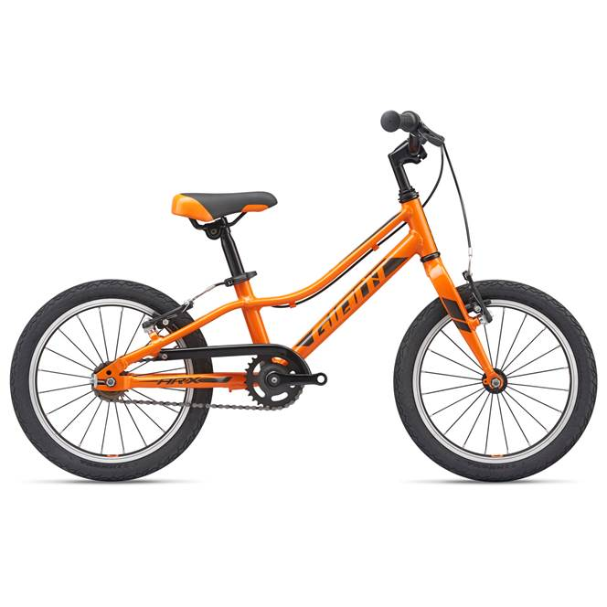 "2019 Giant ARX 16"" Wheel Orange Lightweight Kids Bike"