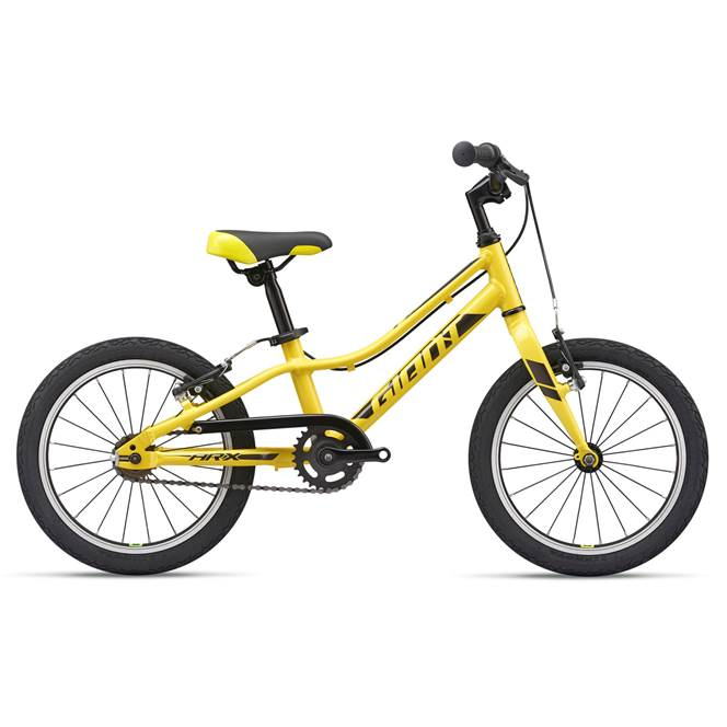 "2019 Giant ARX 16"" Wheel Yellow Lightweight Kids Bike"