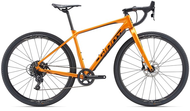2019 Giant ToughRoad SLR GX 0 Mens Gravel bike in Orange