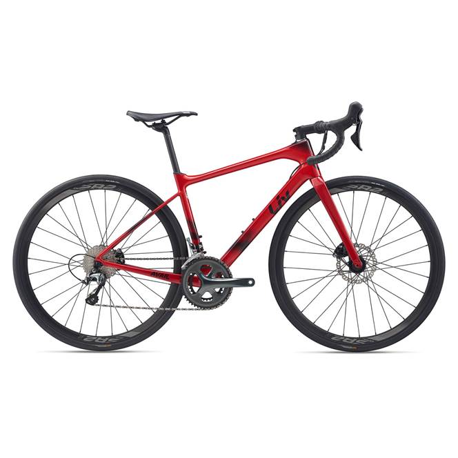 2020 Liv Avail Advanced 3 Carbon Endurance Road Bike in Red