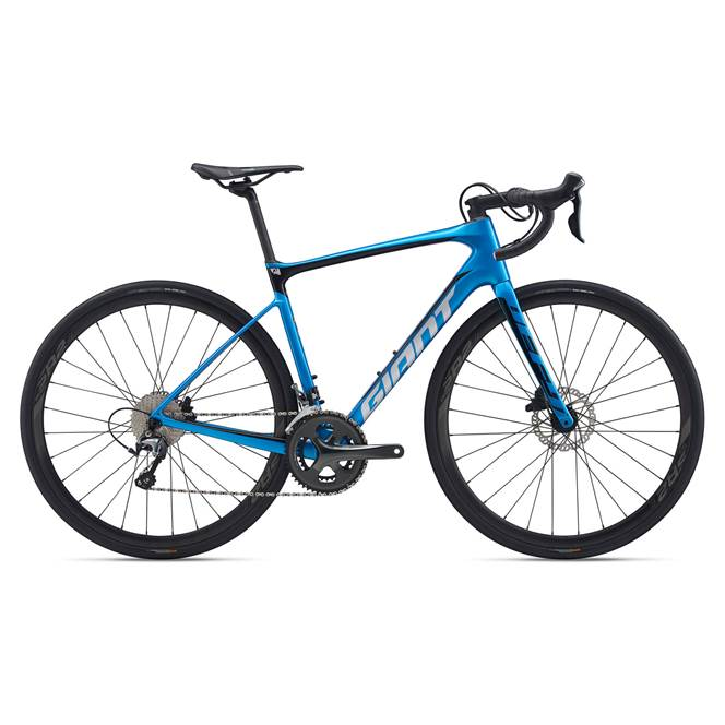 2020 Giant Defy Advanced 3 Carbon Road Bike in Blue