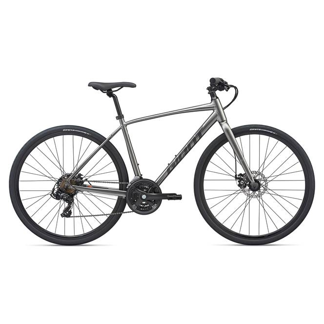 2020 Giant Escape 3 Disc Hybrid Bike in Grey