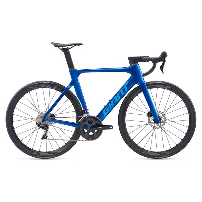 2020 Giant Propel Advanced 2 Disc Carbon Road Bike in Blue