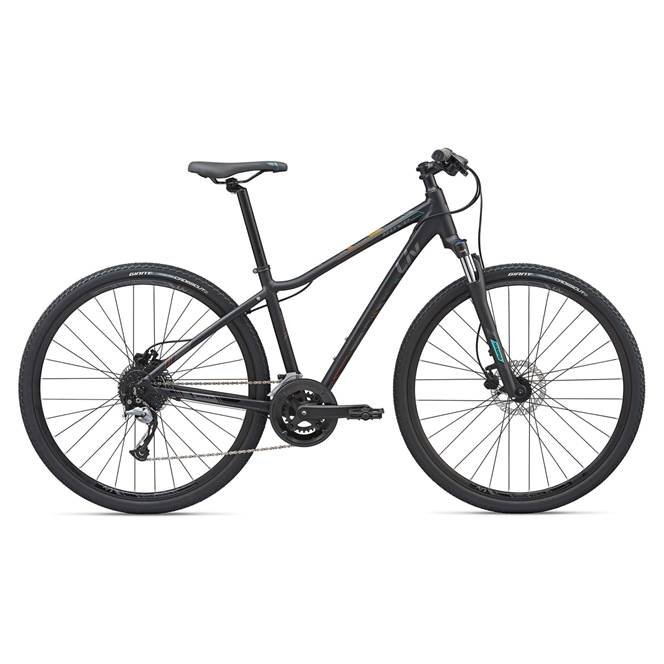 2020 Liv Rove 2 Disc Hybrid Bike in Black