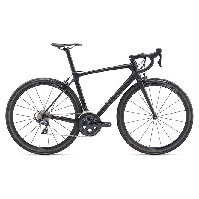 2020 Giant TCR Advanced Pro 1 Carbon Road Bike in Black