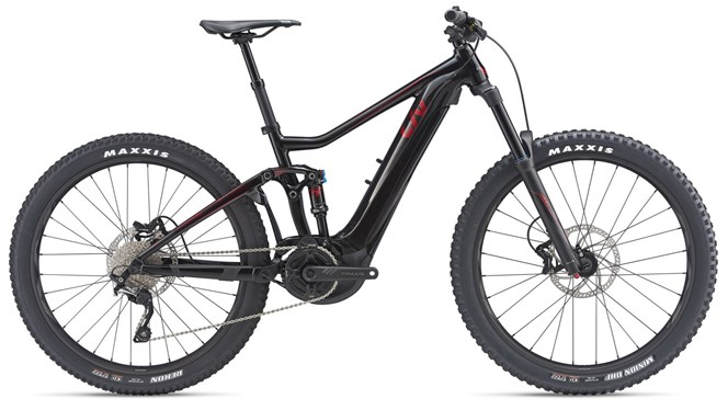 2019 Liv Intrigue E+ 2 Pro 25km Womens FS Mountainbike in Black