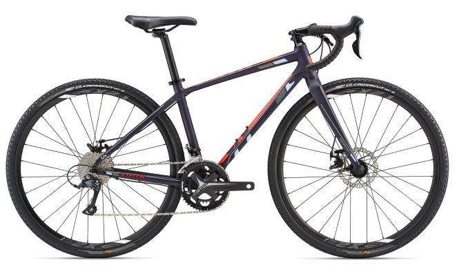 2018 Liv Invite Women's Purple Road/Gravel Bike
