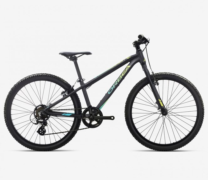 "2019 Orbea MX DIRT 24"" Wheel Black and Pistachio Kids Bike"