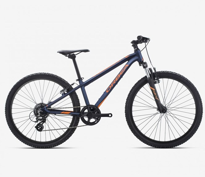 "2019 Orbea MX XC 24"" Wheel Blue and Orange Kids Bike"