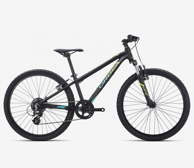 "2019 Orbea MX XC 24"" Wheel Black and Pistachio Kids Bike"