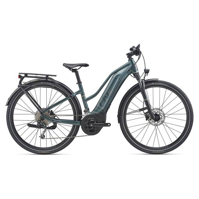 2020 Liv Amiti-E+ 2 Electric Hybrid Bike in Green