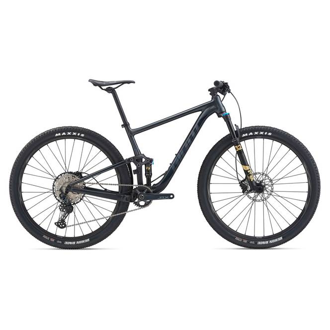 2020 Giant Anthem 29 2 Full Suspension Mountain Bike in Black
