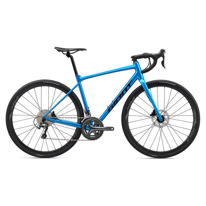 2020 Giant Contend AR 2 Road Bike in Blue