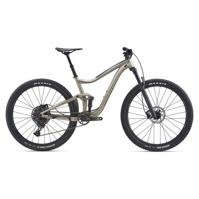 2020 Giant Trance 29 3 Full Suspension Mountain Bike in Brown