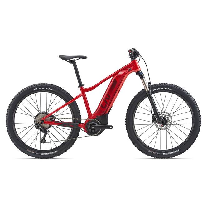2020 Liv Vall-E+ 2 Electric Hardtail Mountain Bike in Red