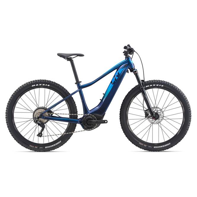 2020 Liv Vall-E+ 2 Pro Electric Hardtail Mountain Bike in Blue