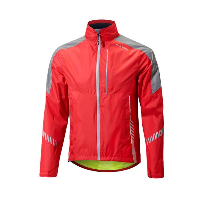 ALTURA NIGHTVISION 3 WATERPROOF JACKET RED