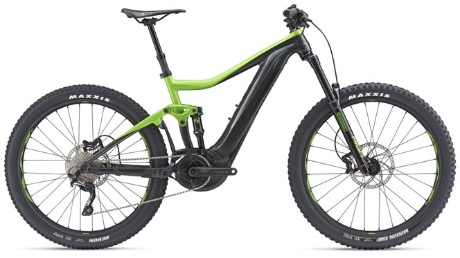 2019 Giant Trance E+ 3 Pro 25km Mens FS Electric Mountainbike in Green