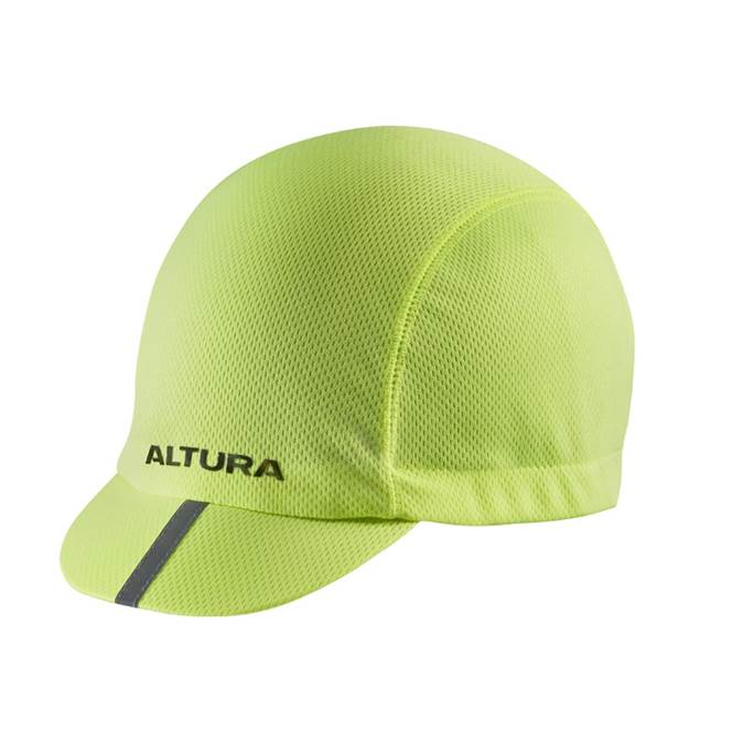 Altura Race Cap Hi-Vis Yellow One Size