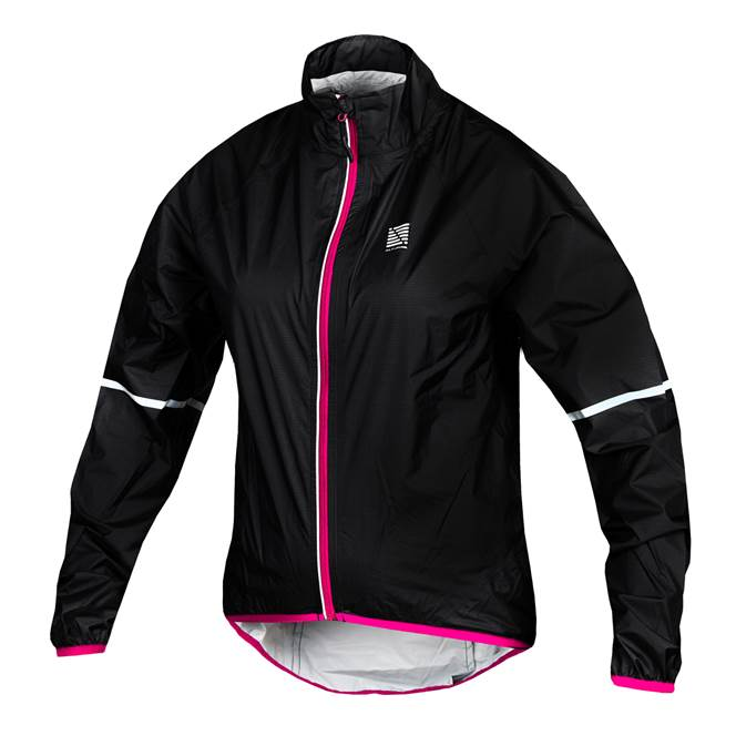 Altura Microlite Showerproof Womens Jacket Black/Pink
