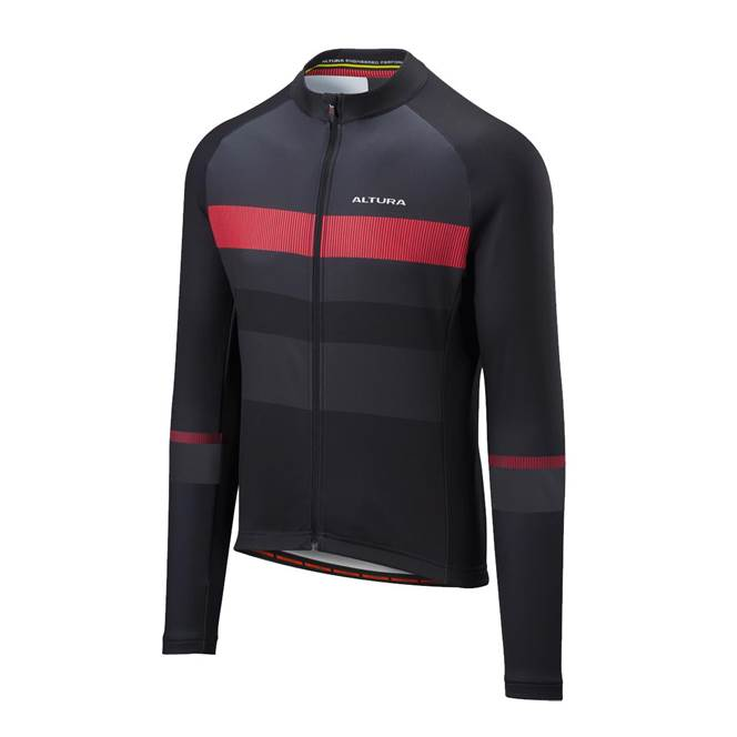 Altura Airstream Long Sleeve Jersey Black
